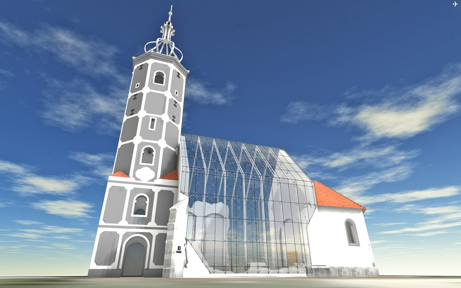 Restoring Croatia's Church of St. Martin with the help of Archicad and BIMx